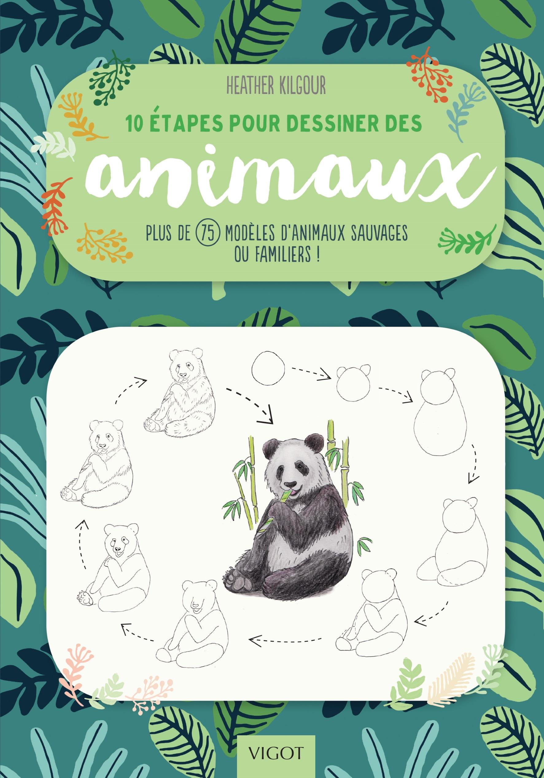 10 étapes pour dessiner des animaux